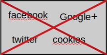 Details | Wir verzichten auf Facebook und Co und nutzen keine Cookies