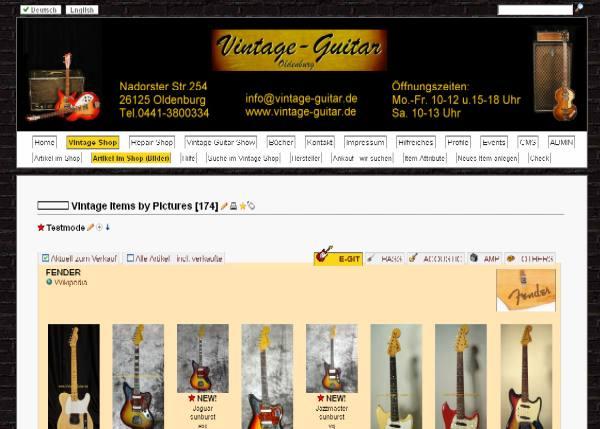 Details | Neue Webseite bei vintage-guitars.de